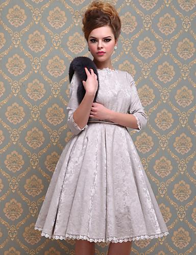 ts vidunderlig royal stil kjole