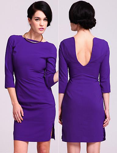 TS enkelthed open-back blyant kjole