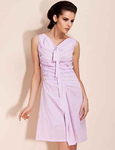 ts ökade övre enkelhet klänning