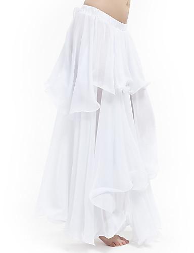 Trbušni ples Suknja Žene Seksi blagdanski kostimi Šifon S volanima Sudačko