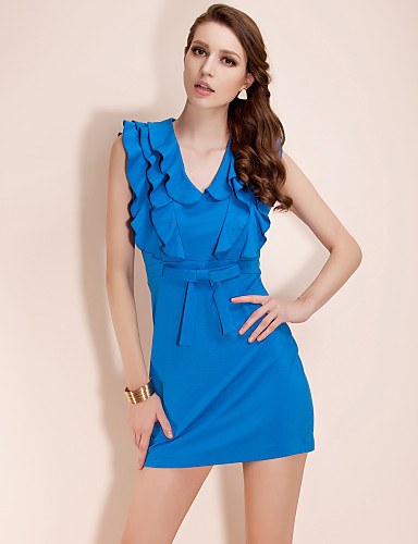 TS Three-tier Flouncing Jersey Dress (More Colors)