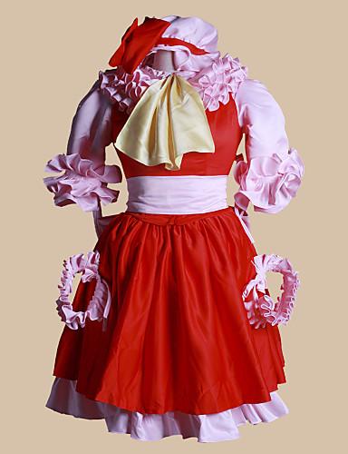 billige Cosplay og kostumer-Inspireret af Touhou Projekt Patchouli Knowledge video Spil Cosplay Kostumer Cosplay Kostumer Patchwork Top Kostumer