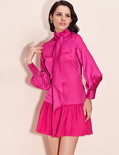 TS Standing Collar Tie Dress (More Color)