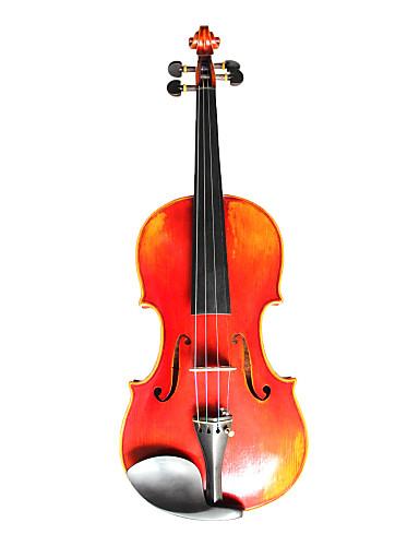 billige Strengeinstrumenter-violintine - (v23) 4/4 profesjonell solid gran og en-brikke flamme lønn fiolin med case / bue