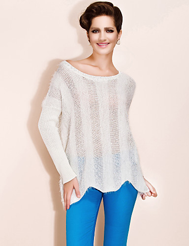 TS Sequin Embroidery Wave Hem Pullover (More Colors)