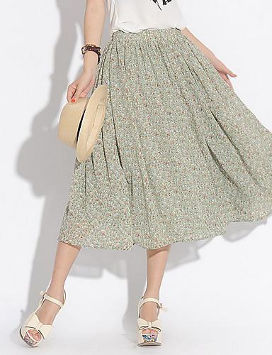 kvinnors blommig klänning