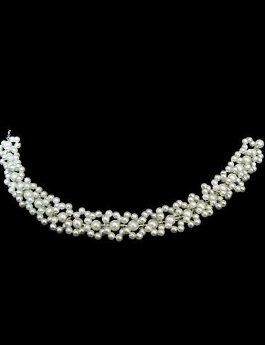 billige Hodebånd-imitasjon perle pannebånd headpiece klassisk feminin stil