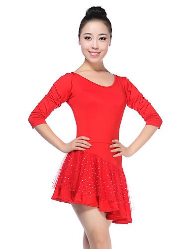 latino plesne haljine ženska obuka viskoza prirodni elegantni stil