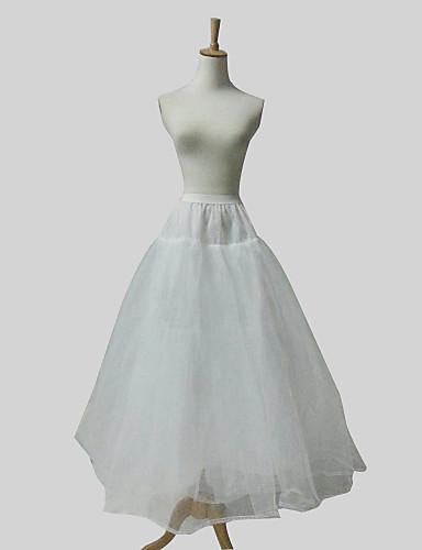 Nylon Ball Gown Full Gown 4 Tier Floor-length Slip Style/ Wedding Petticoats