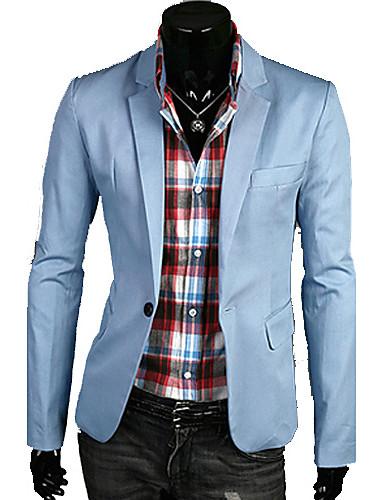 Men's Chic & Modern Blazer-Solid Colored