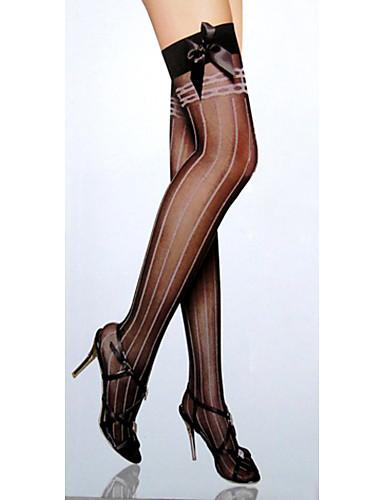 Femei Arcuri Stripe elastic Ciorapi