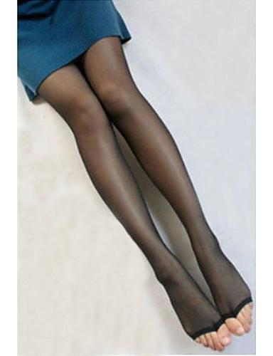 Damen Strumpfhose-Solide Samt Dünn
