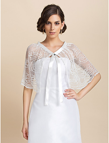 Lace Party/Evening Casual Wedding  Wraps Capelets Elegant Style