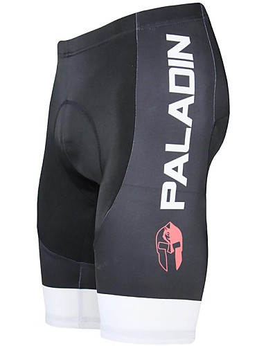cheap Cycling-ILPALADINO Men's Cycling Padded Shorts Bike Shorts Padded Shorts / Chamois Pants Breathable 3D Pad Quick Dry Sports Solid Color Polyester Lycra Red / Green / Blue Road Bike Cycling Clothing Apparel