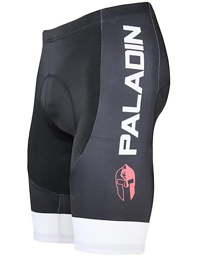 ราคาถูก ชุดปั่นจักรยาน-ILPALADINO สำหรับผู้ชาย Cycling Padded Shorts จักรยาน กางเกงขาสั้น แป้นสั้น กางเกง ระบายอากาศ 3D Pad แห้งเร็ว กีฬา สีทึบ เส้นใยสังเคราะห์ ไลคร่า แดง / สีเขียว / ฟ้า Road Cycling เสื้อผ้าถัก Relaxed