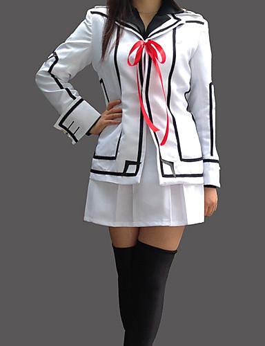 povoljno Anime kostimi-Inspirirana Vampire Knight Luca Souen Anime Cosplay nošnje Japanski Cosplay Suits / School Uniforms Kolaž Dugih rukava Kaput / Shirt / Suknja Za Žene