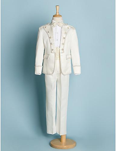 Poliester Costum Cavaler Inele - 5 Bucăți Include Jachetă / Cămașă / Pantaloni / Brâu / Papion