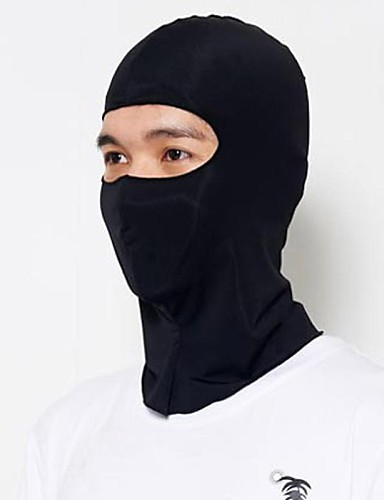 cheap Cycling Clothing-Balaclava Pollution Protection Mask Men's Camping / Hiking Cycling / Bike Bike / Cycling Sunscreen Breathable Quick Dry Solid Color Polyester / Stretchy / Mountain Bike MTB / Road Bike Cycling