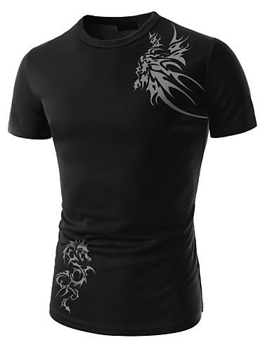 T-shirt Męskie Chic & Modern,Nadruk Nadruk