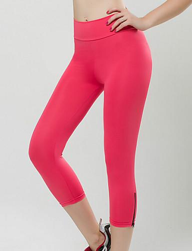 Damen Mittlere Hüfthöhe Dehnbar Jeans Hose, Polyester Herbst Solide