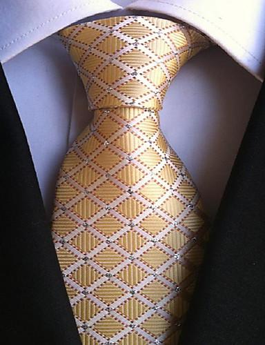 Men's Vintage Cute Party Work Casual Polyester Necktie Print