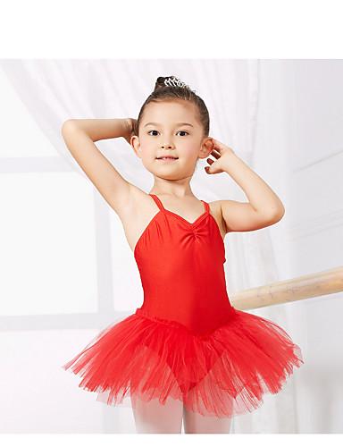 preiswerte Ballettbekleidung-Tanzkleidung für Kinder / Ballett Turnanzug Training Elasthan Ärmellos