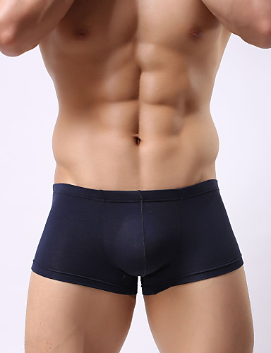 Regenerated cellulose soft and comfortable waist convex u sexy men's pants