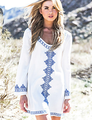 Damen Boho Cover-Up - Druck