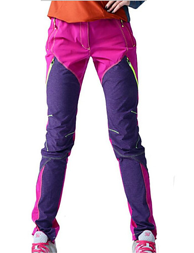 cheap Cycling Clothing-KORAMAN Women's Cycling Pants Bike Pants / Trousers Pants Waterproof Windproof Breathable Sports Black / Purple / Yan pink Clothing Apparel Bike Wear / Quick Dry / Quick Dry / Ultraviolet Resistant