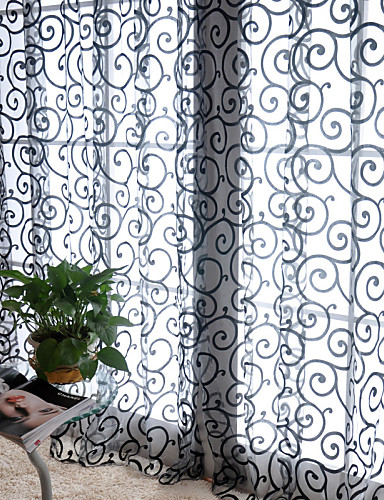 """cheap Sheer Curtains-Curtains Drapes One Panel 39""""W*79""""L White / Living Room"""