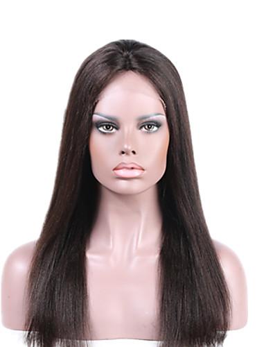 abordables Perruques Naturelles Dentelle-Perruque Cheveux Naturel humain Full Lace Lace Frontale Cheveux Brésiliens Ondulé Femme Densité 130% avec des cheveux de bébé Ligne de Cheveux Naturelle Perruque afro-américaine 100 % Tissée Main