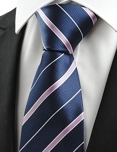 Herre Fest Kontor Basale Slips - Bomuld Rayon Polyester Stribet