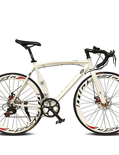 저렴한 싸이클링-도로 자전거 싸이클링 14 속도 26인치 / 700CC SHIMANO TX30 더블 디스크 브레이크 보통의 모노코크 보통의 알루미늄 합금 / #