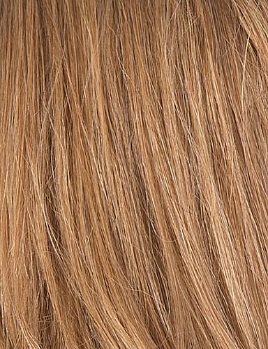 abordables Perruques Naturelles Dentelle-Perruque Cheveux Naturel humain Lace Frontale Ondulé Femme Cheveux Colorés Ligne de Cheveux Naturelle Perruque afro-américaine 100 % Tissée Main Long Auburn Blond Fraise / Medium Auburn Medium Auburn