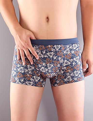 nieuwe mode voor mannen katoenen ondergoed gezondheid 4 kleuren
