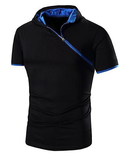 Herre Sport Sweatshirt - Ensfarvet