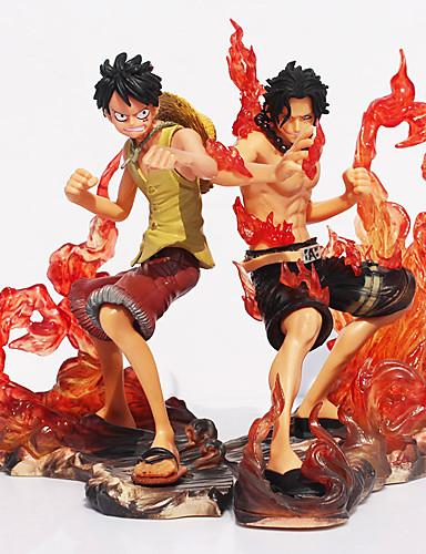 baratos Cosplay Anime-Figuras de Ação Anime Inspirado por One Piece Fantasias PVC 11 cm CM modelo Brinquedos Boneca de Brinquedo