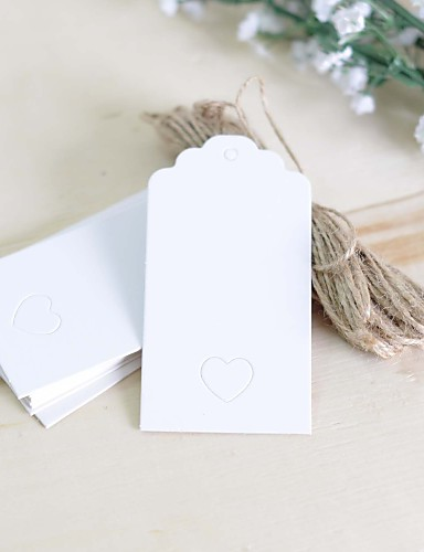 Tuin Thema rustieke Theme Stickers, Labels & Tags - 100 Rond Vierkant Rechthoekig Unieke bruiloftsdecoratie Labels Tags
