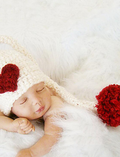 Mädchen Jungen Hüte & Kappen Ganzjährig Baumwolle Roma Strickmuster Stirnbänder - Weiß