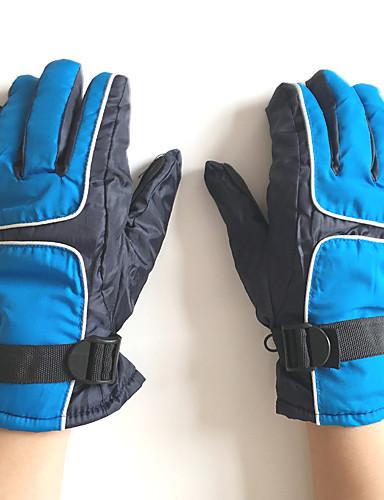 Uniseks Informeel Winter Polyester Patchwork  Polslengte vingertoppen