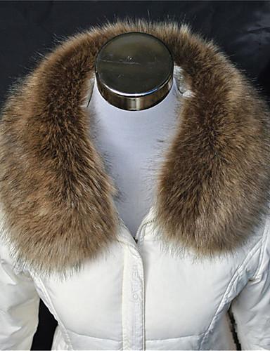 Damen Party Freizeit Winter Herbst Acryl Rechteck Infinity-Schal Weiß Gelb Braun Kamel Dark Gray