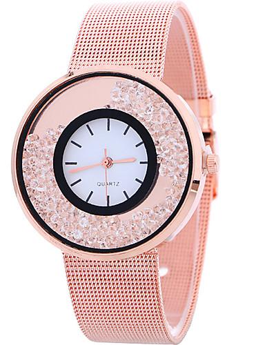 Mujer damas Reloj de Pulsera Cuarzo Plata / Dorado / Oro Rosa Reloj Casual Cool Analógico Casual Moda - Dorado Plata Oro Rosa Un año Vida de la Batería / SSUO LR626