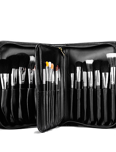 cheap Makeup Brush Sets-29 pcs Makeup Brushes Professional Makeup Brush Set Mink Hair / Goat Hair / Pony Professional / Full Coverage Wood / Synthetic Hair / Horse / Goat Hair Brush / Artificial Fibre Brush