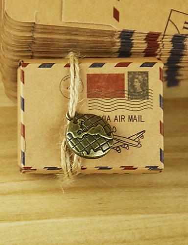 Creativo De Forma Cúbica Papel de tarjeta Soporte para regalo  con Diseño Cajas de regalos