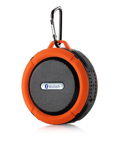 billige Bluetooth høytalere-Utendørs Vanntett Mini Bærbar Innbygd Mikrofonen Bluetooth 2.1 Trådløse Bluetooth-høyttalere Svart Oransje Rød Grønn Blå