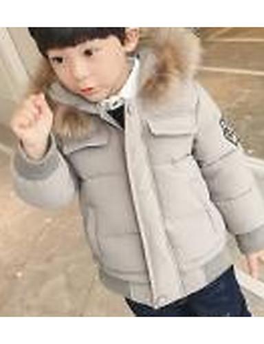 男の子 カジュアル/普段着 ゼブラプリント コットン ダウン&コットンキルティング 冬 長袖