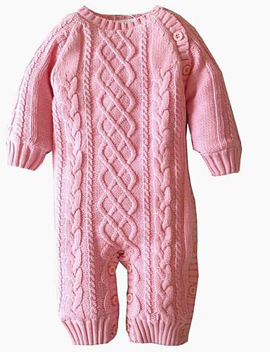 Unisex Sets Lässig/Alltäglich einfarbig Baumwolle Winter Kleidungs Set
