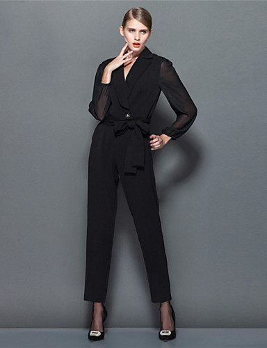 yimilan® γυναικών την άνοιξη του 2015 νέα μόδα κομψό σιαμαία παντελόνι