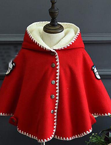 Mädchen Trenchcoat Lässig/Alltäglich einfarbig Baumwolle Winter Frühling Herbst Ärmellos