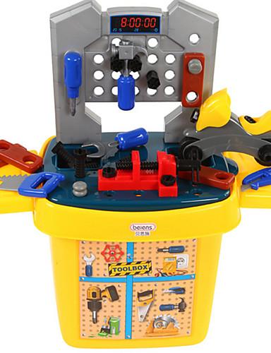 voordelige Speelgoedgereedschap-beiens Speelgoedgereedschap Gereedschapskisten Noviteit Veiligheid Muovi Kinderen Jongens Speeltjes Geschenk